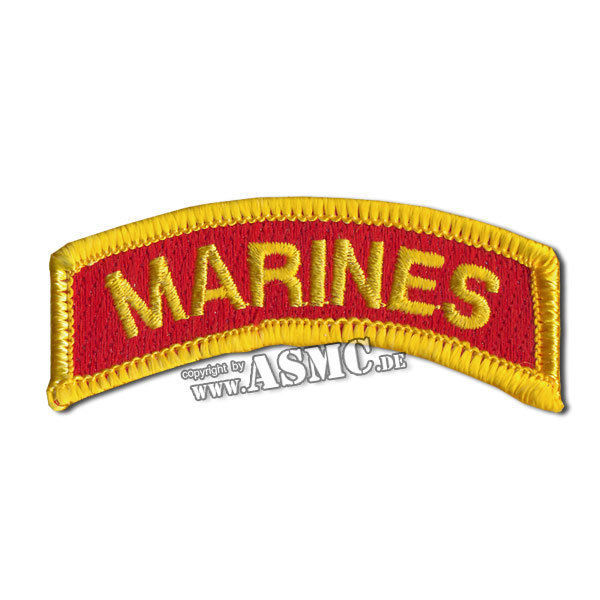 Insignia Arm Tab MARINES gold/red