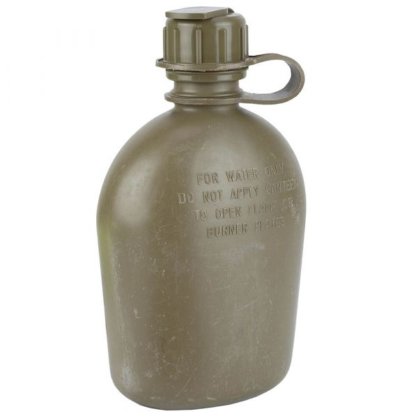 U.S. Canteen 1 qt. With Cover Used