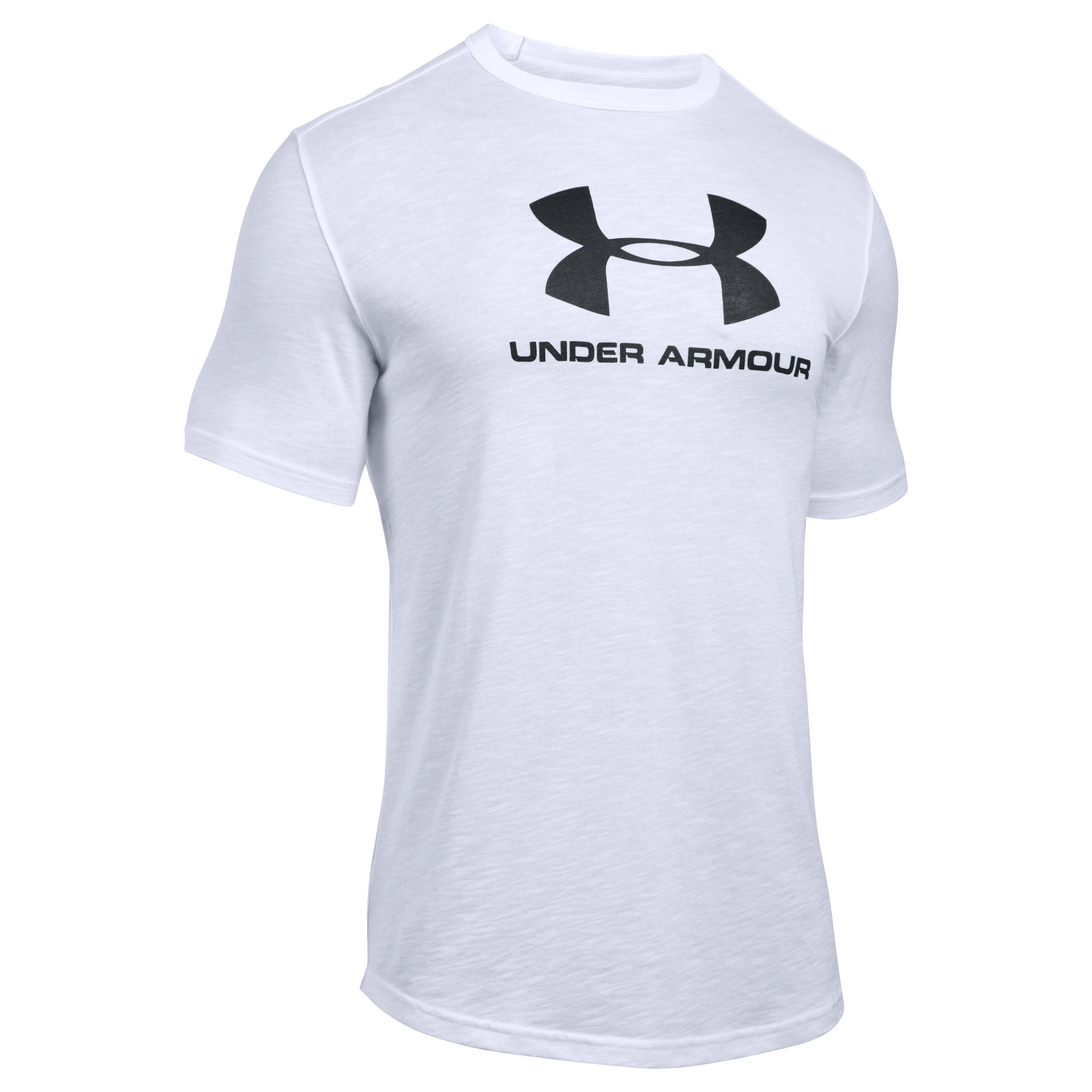 Under Armour Fitness T-Shirt Sport Style Branded Tee white
