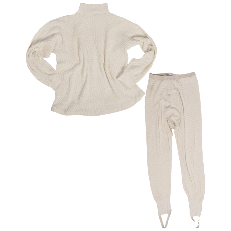U.S. Aramid Long Underwear Set Like New white