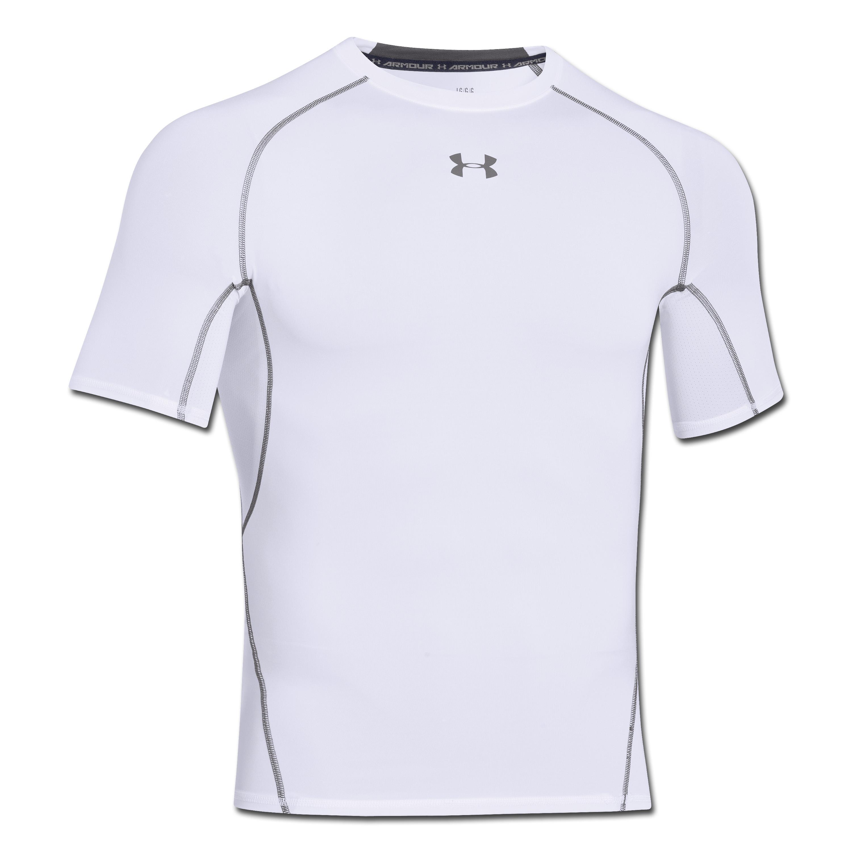 Under Armour HeatGear Compression Short Sleeve white