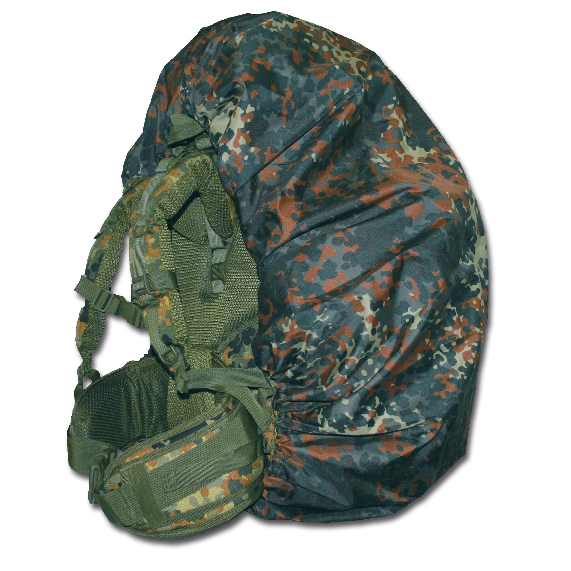 Backpack Cover TacGear flecktarn