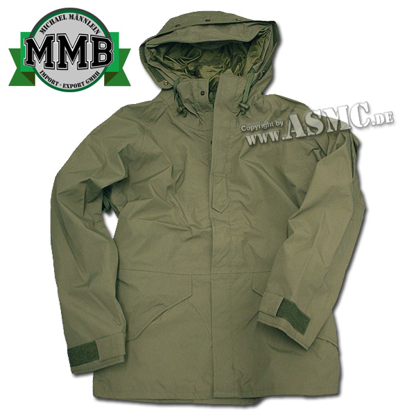Wet Weather Jacket MMB olive green
