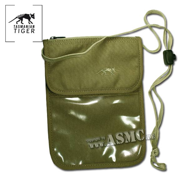 ID Holder TT Neck Pouch olive