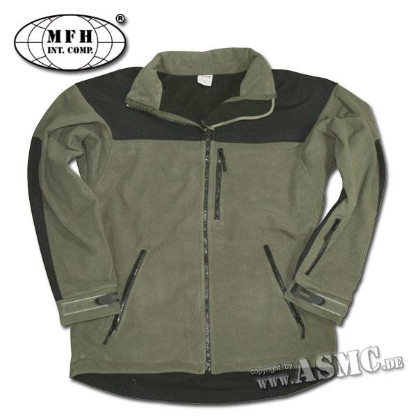 Fleece Jacket AIR MFH olive
