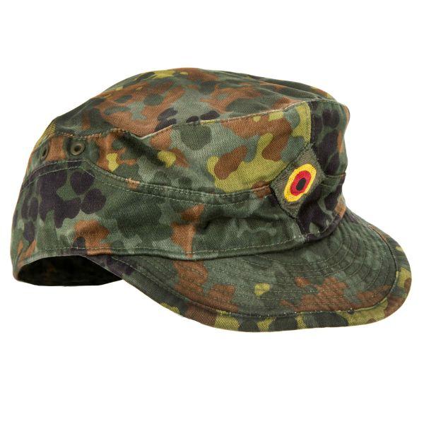 German Army Field Cap flecktarn used