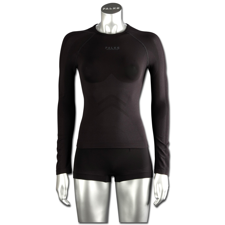 Falke Women Long-Sleeved Running Shirt black