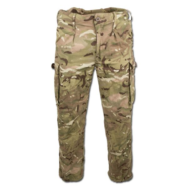 British Field Trousers Tropen Used MTP camo