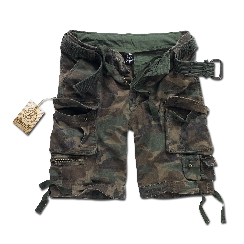 Brandit Savage Shorts woodland