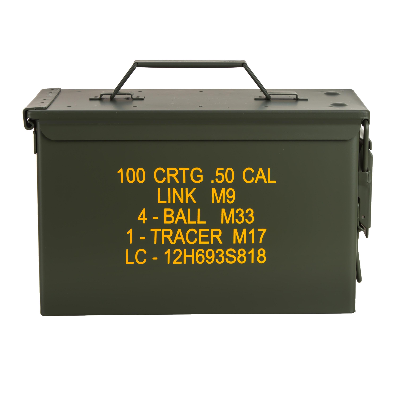 U.S. Ammo Box M2A1 Cal. 50 Import olive