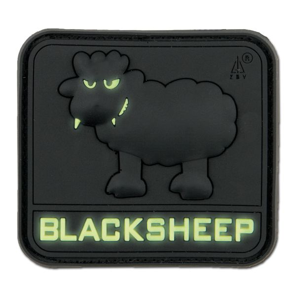 3D-Patch BlackSheep luminescent