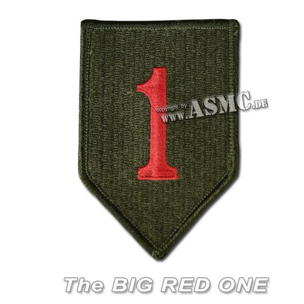 Insignia U.S. 1st. Division Textile