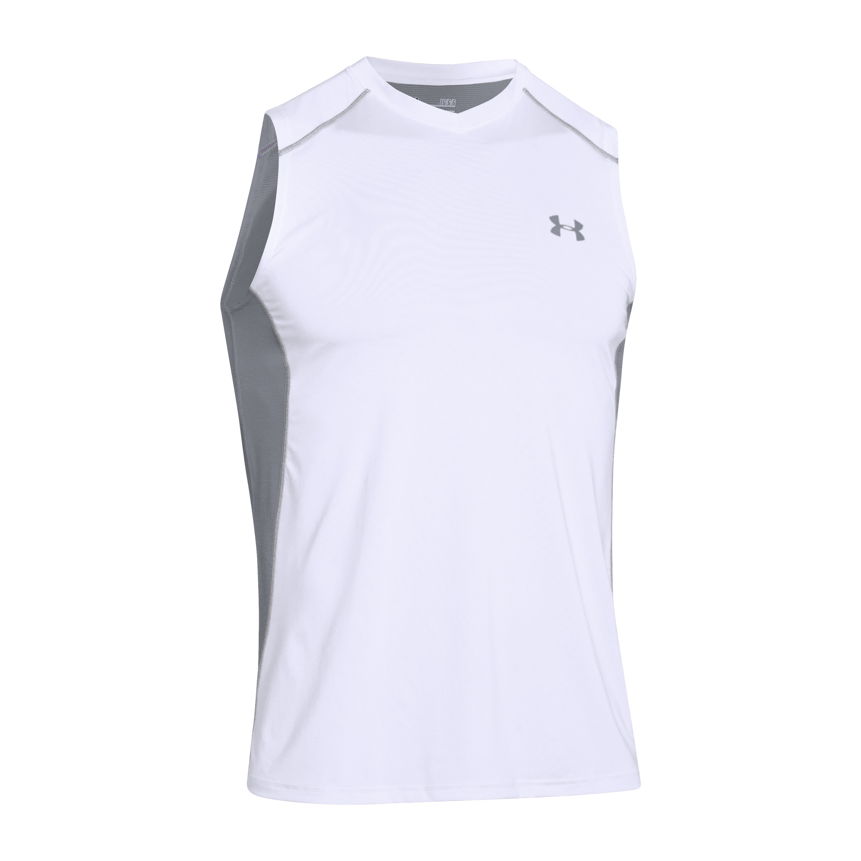 Under Armour Shirt Raid white/gray