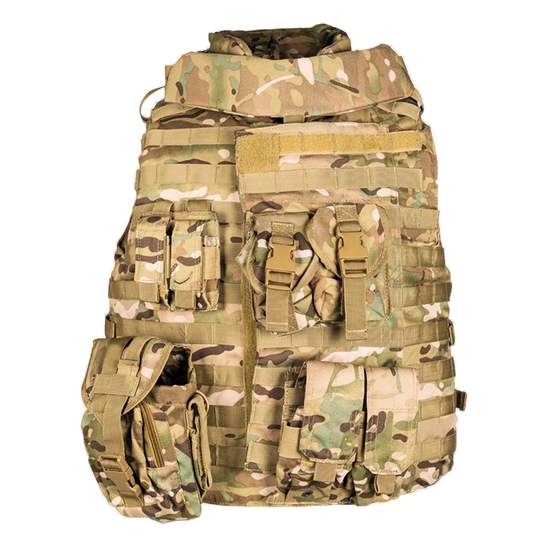 Tactical Vest OTV multitarn