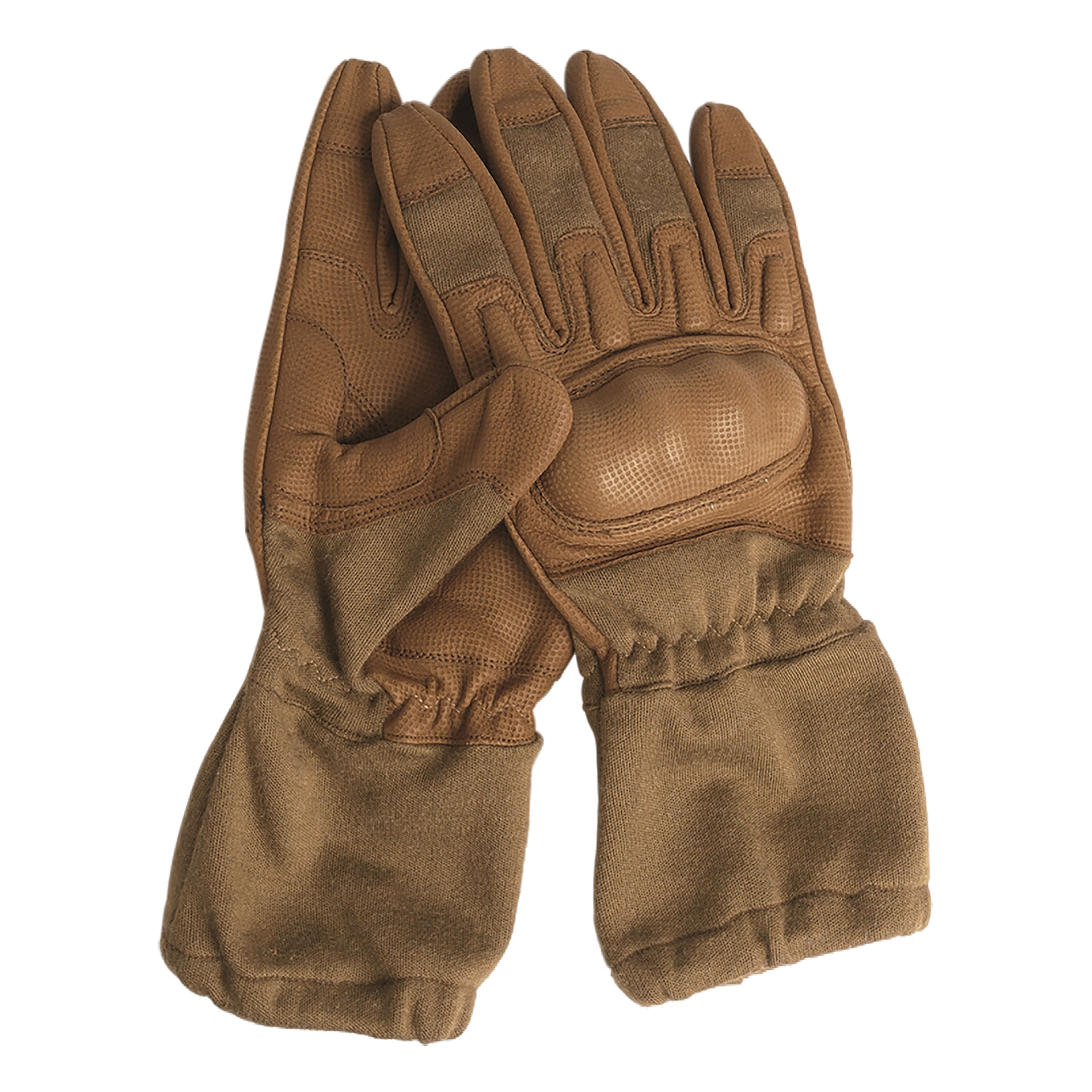 Action Gloves Flame Retardant with Cuffs coyote