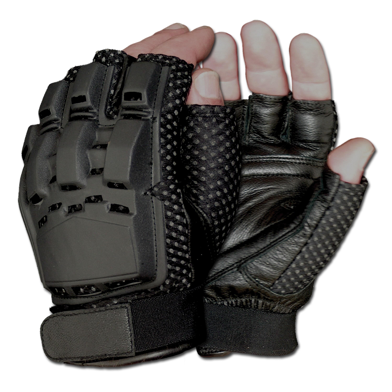 Gotcha-Paintball Gloves Half Finger black