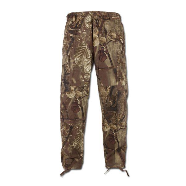 BDU pants MFH ripstop hunter brown