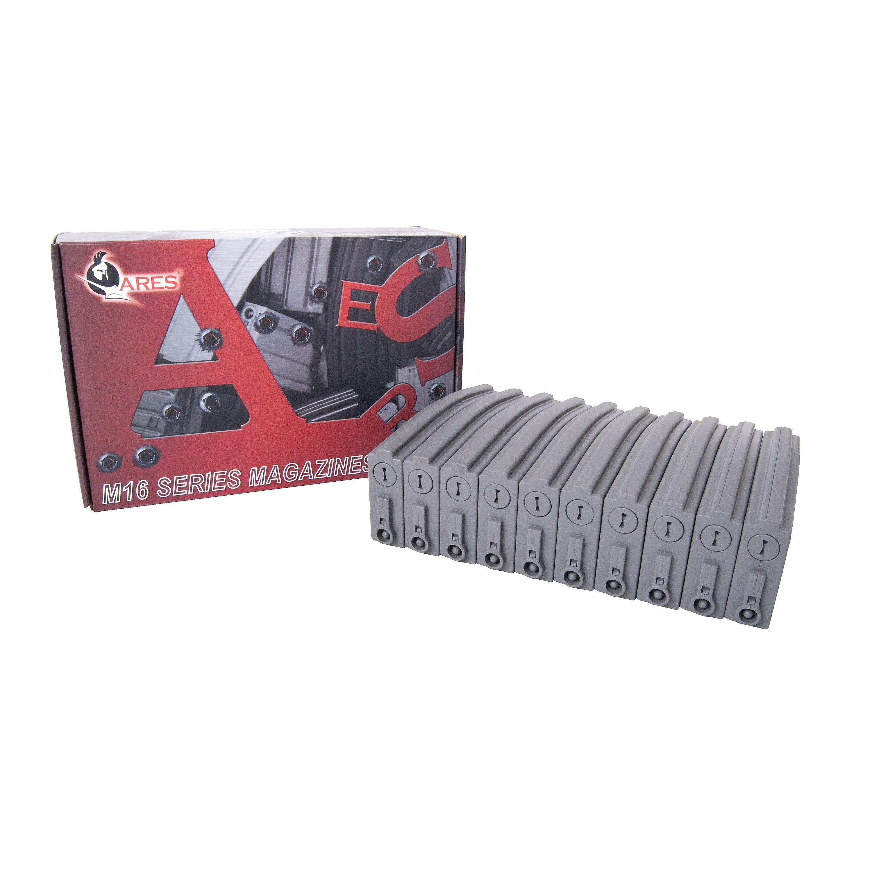 Airsoft Magazine Ares Low Cap M16 10-Pack