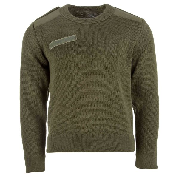 Used French Commando Pullover olive