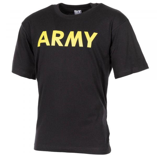 MFH T-Shirt ARMY black