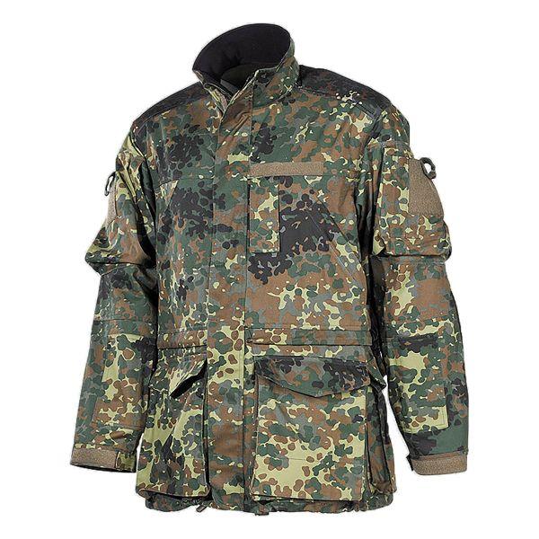 BW Combat Jacket Long flecktarn