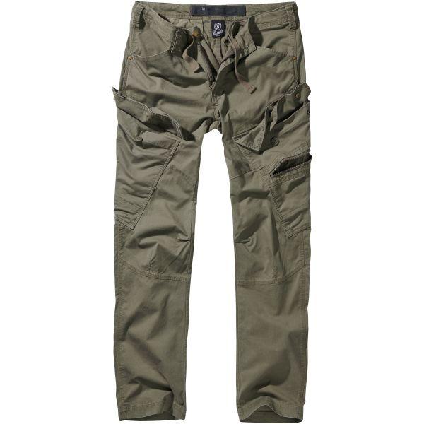 Brandit Adven Pants Slim Fit Men olive