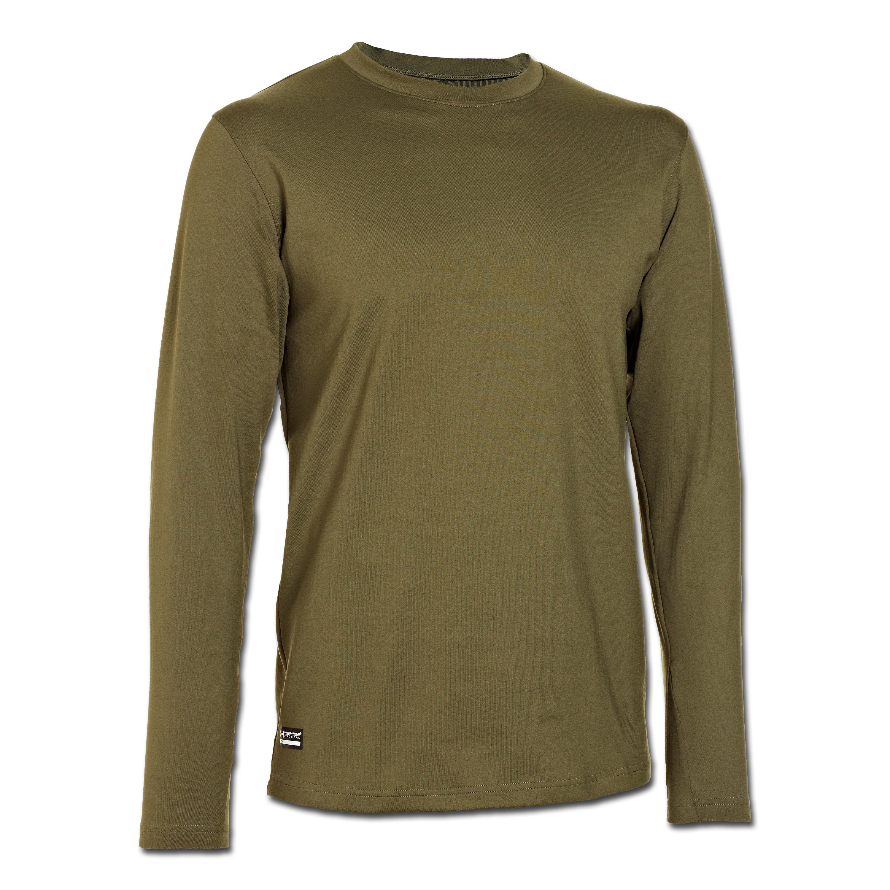 Under Armour ColdGear Tactical Crew Fitted olive