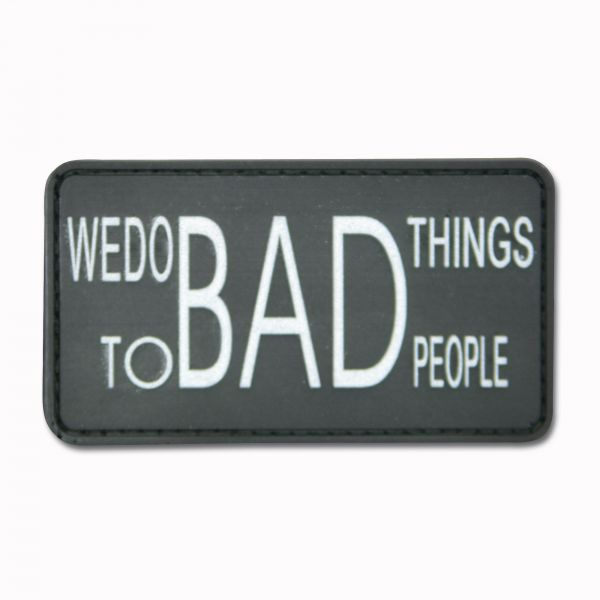 3D-Patch We do bad things to bad people black