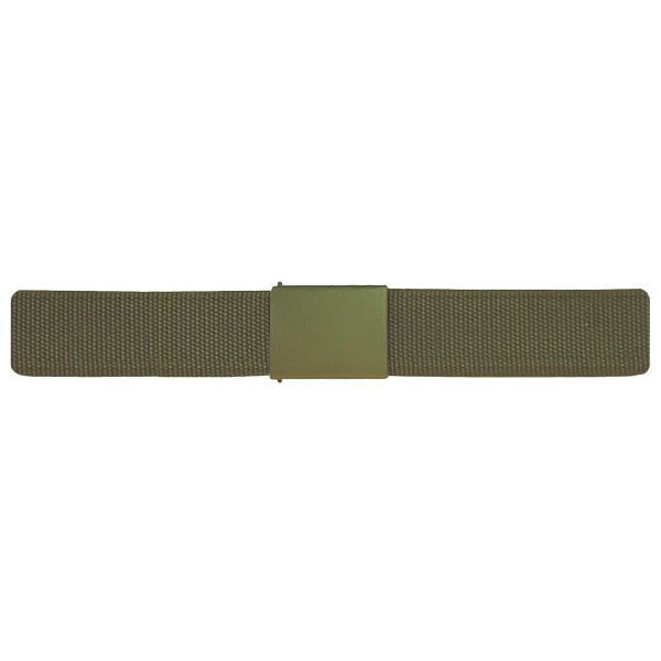 German Army Belt Textile Used olive