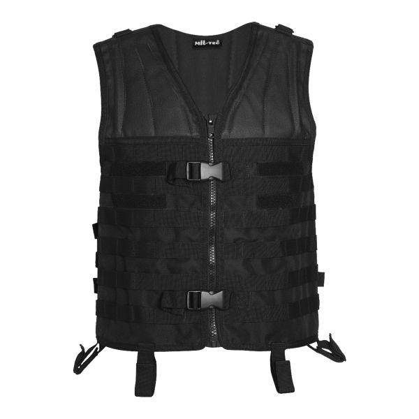 Vest Mil-Tec Molle Carrier black