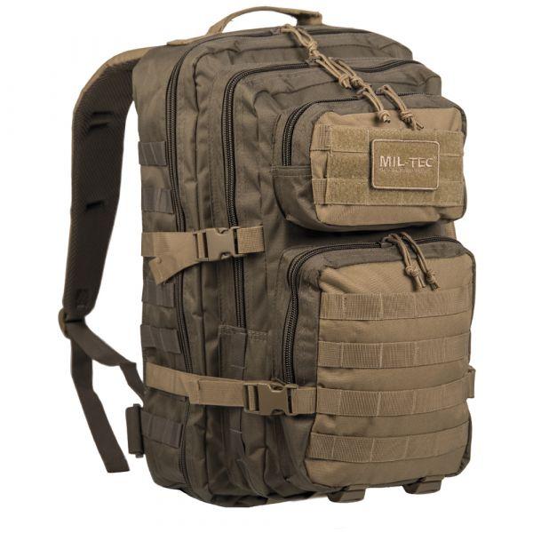 Mil-Tec Backpack US Assault Pack LG ranger green/coyote