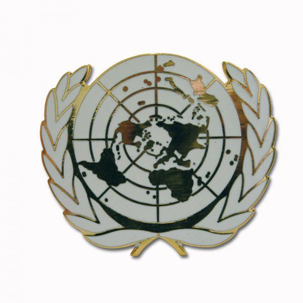 Beret Insignia UN Metal