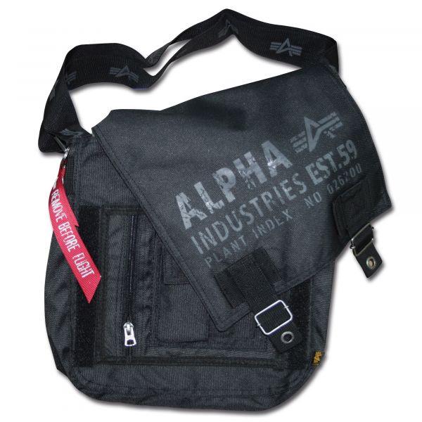 Alpha Industries Cargo Oxford Utility Bag black