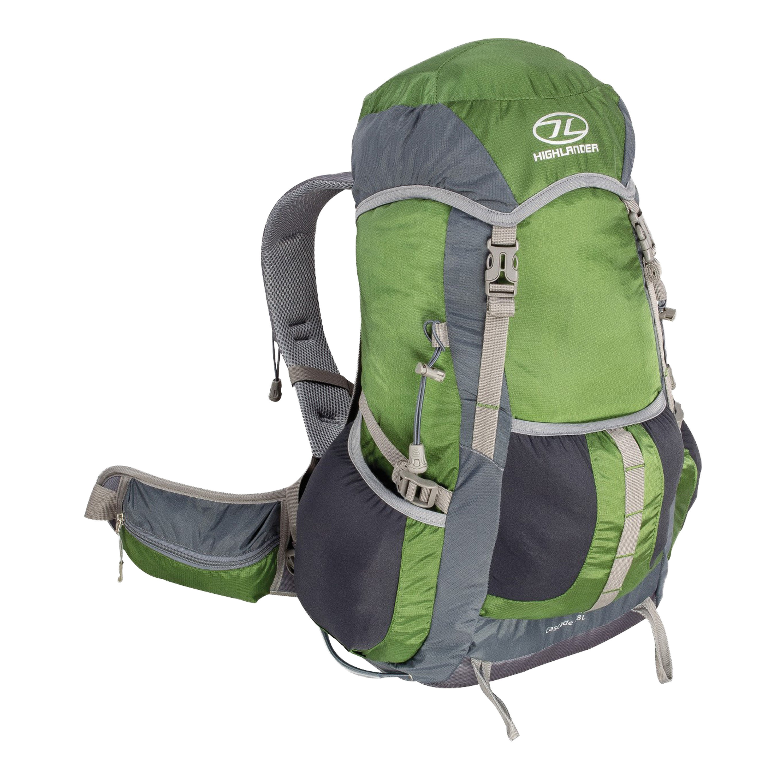 Highlander Backpack Cascade 28 L green