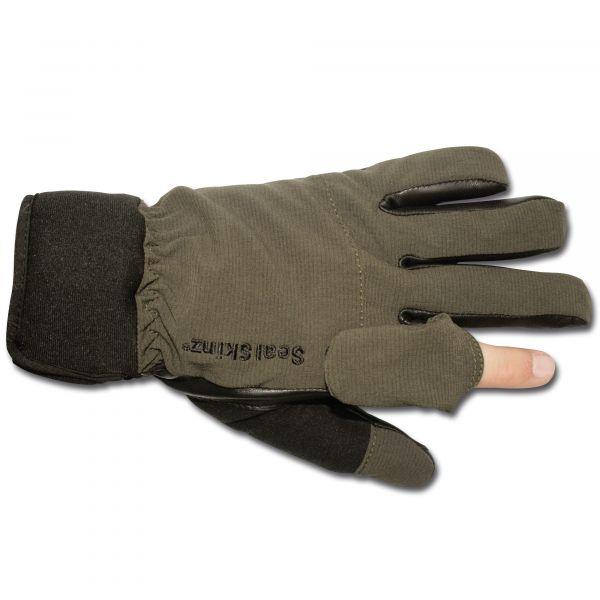 Shooting Gloves Sealskinz olive