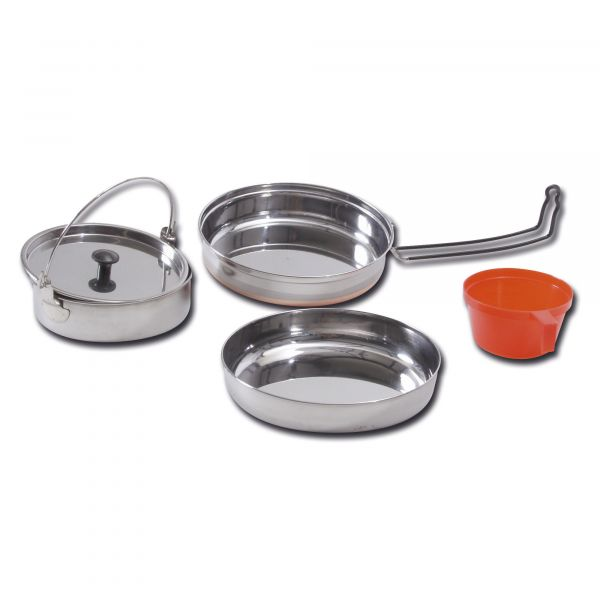 Stainless Steel Cook Set 1 Person