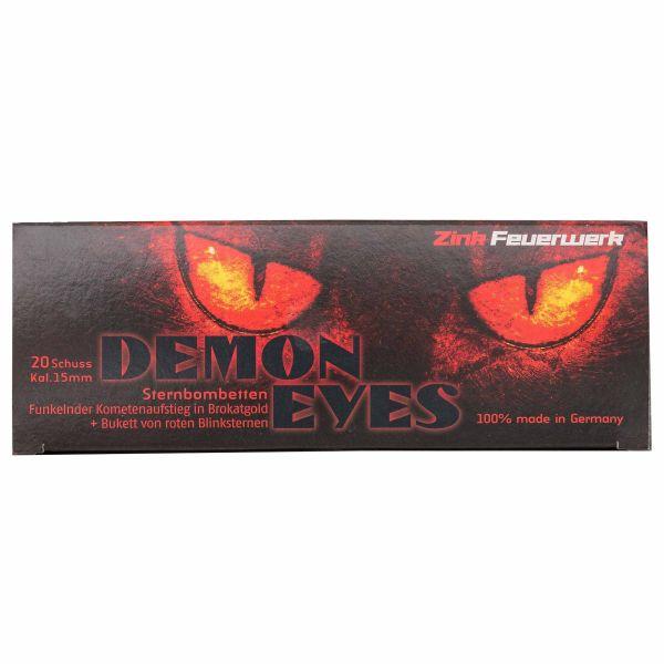 Zink Feuerwerk Demon Eyes Fireworks 15 mm 20 Pieces