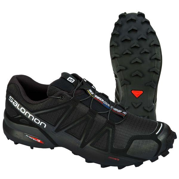 Salomon Shoes Speedcross 4 black metallic