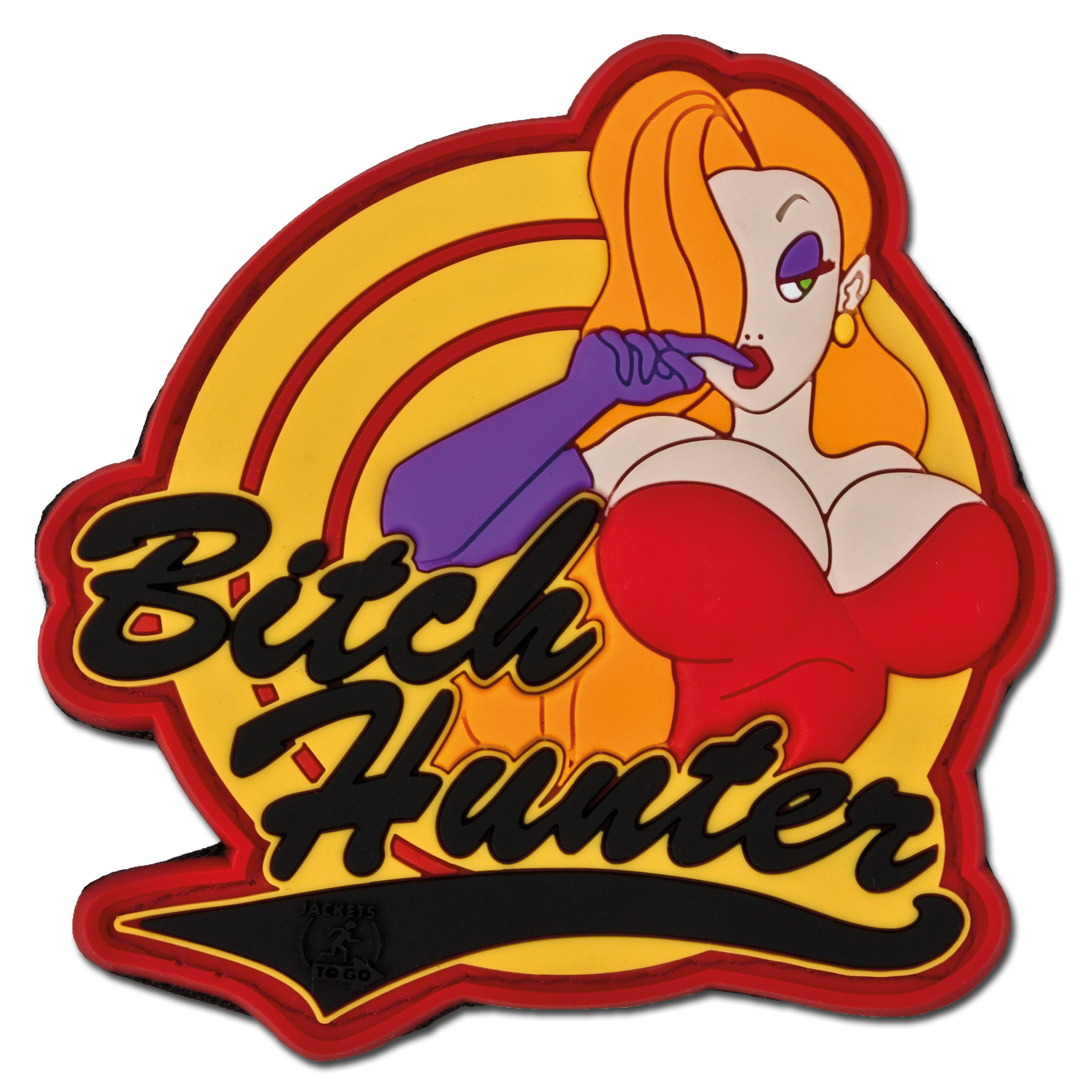 3D-Patch BITCH HUNTER full color