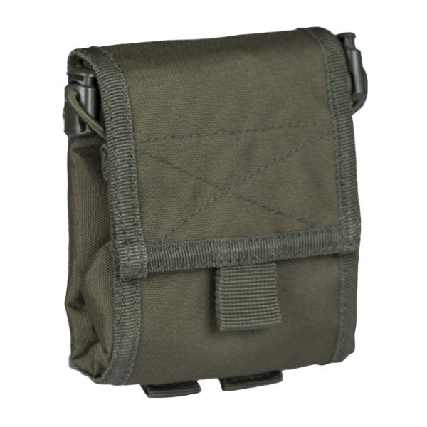 Empty Shell Pouch Collaps olive