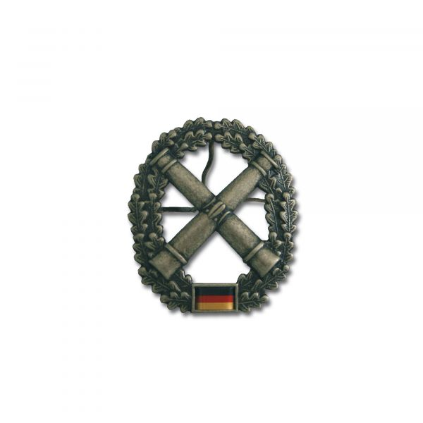 German Armed Forces beret insignia Field Artillery