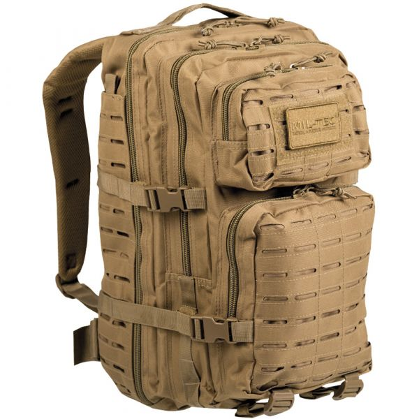 Backpack U.S. Assault Pack Laser Cut LG coyote