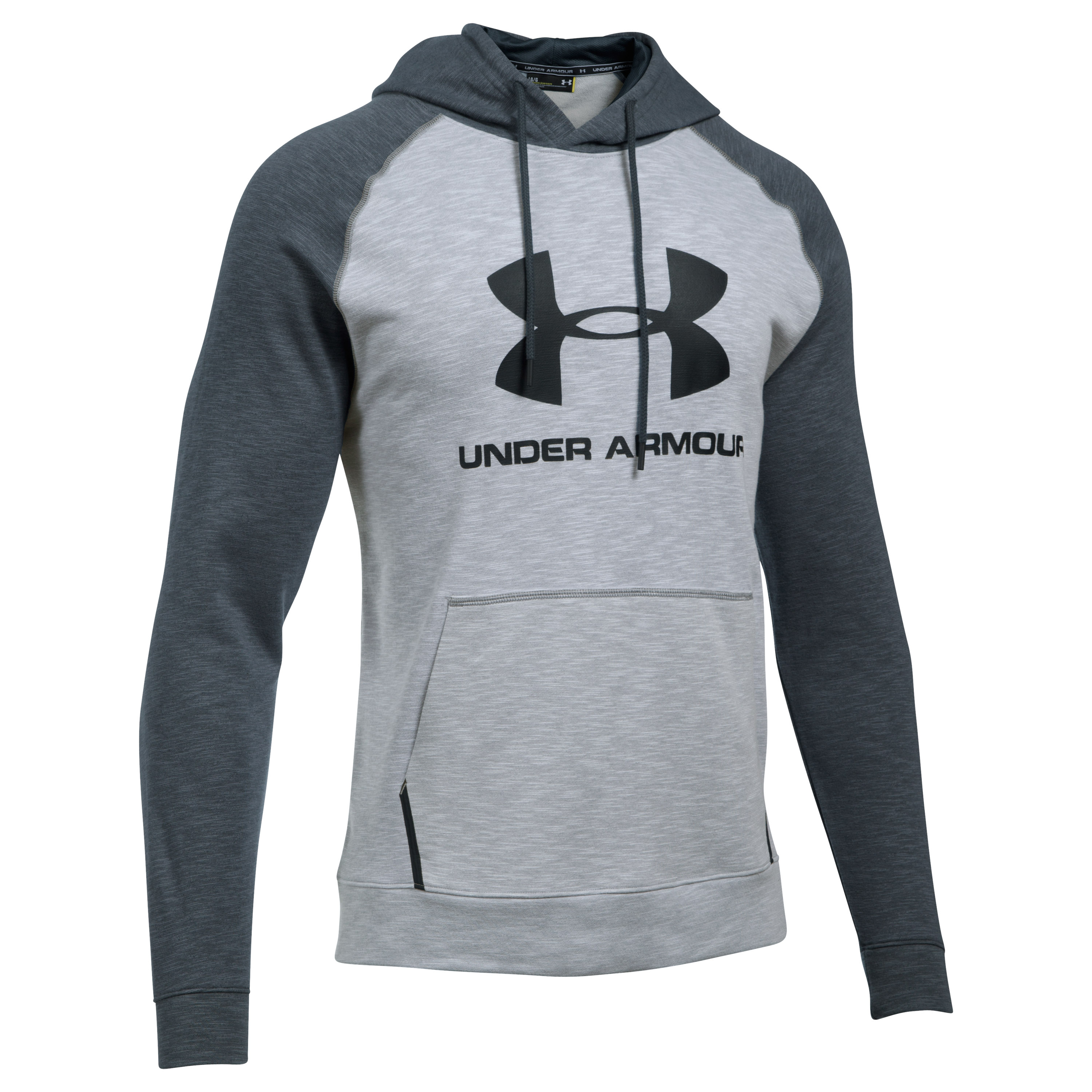 Under Armour Fitness Pullover Hoody Sport Style Triblend light g