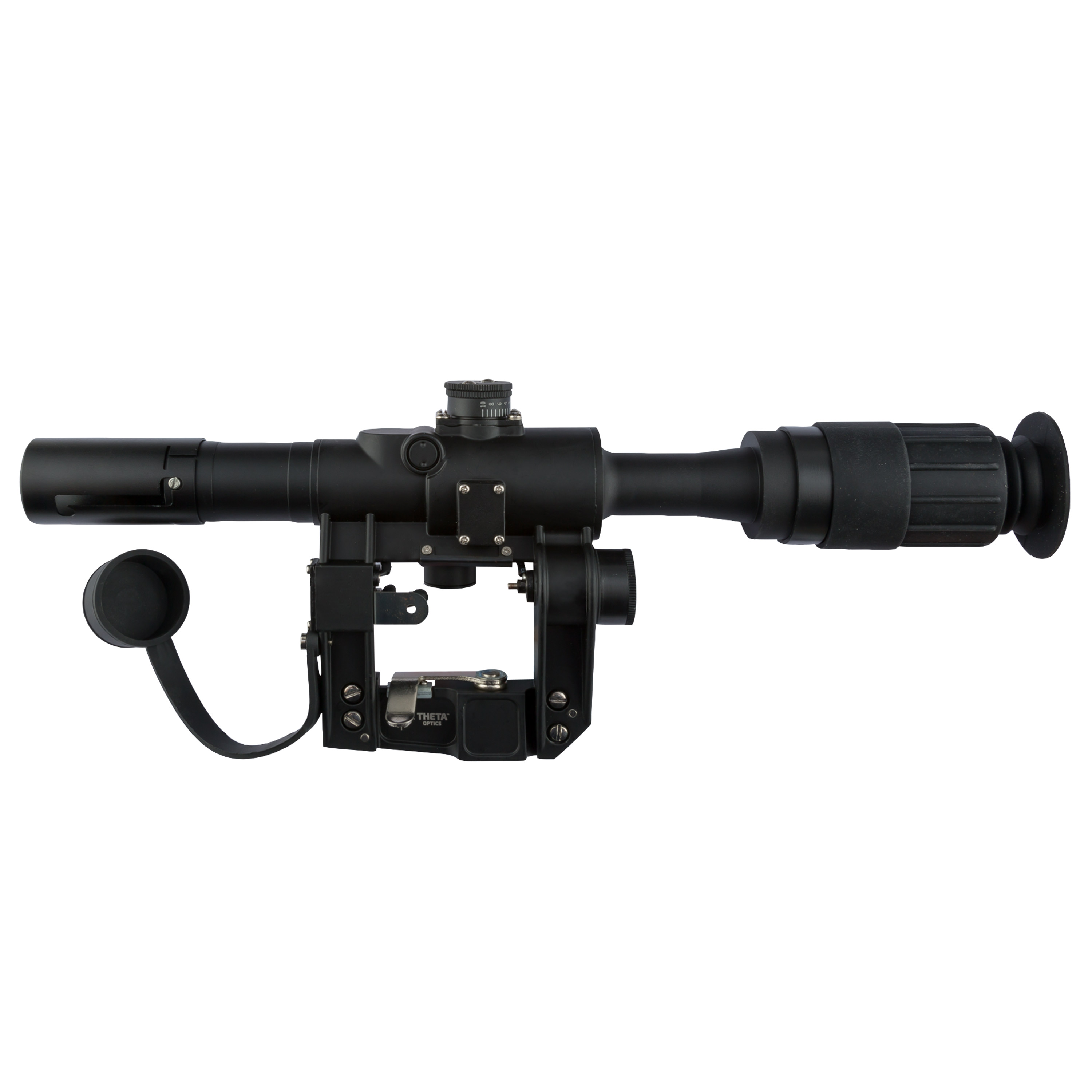 THO PSO-1 Scope with SWD Mount black