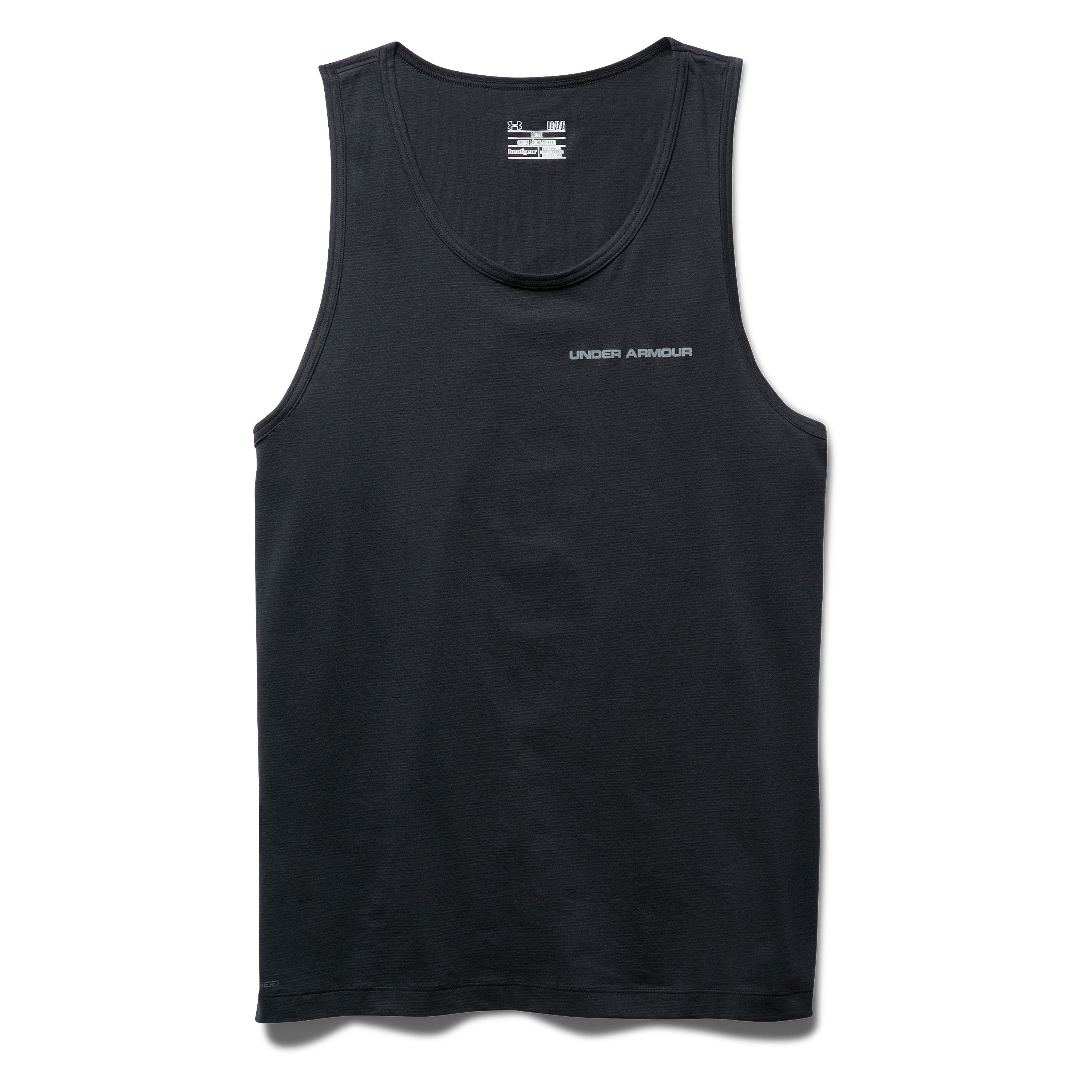 Under Armour Tank-Top Charged Cotton black/gray
