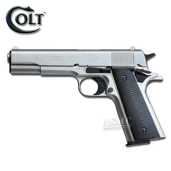 Pistol Colt Government 1911 A1 nickel