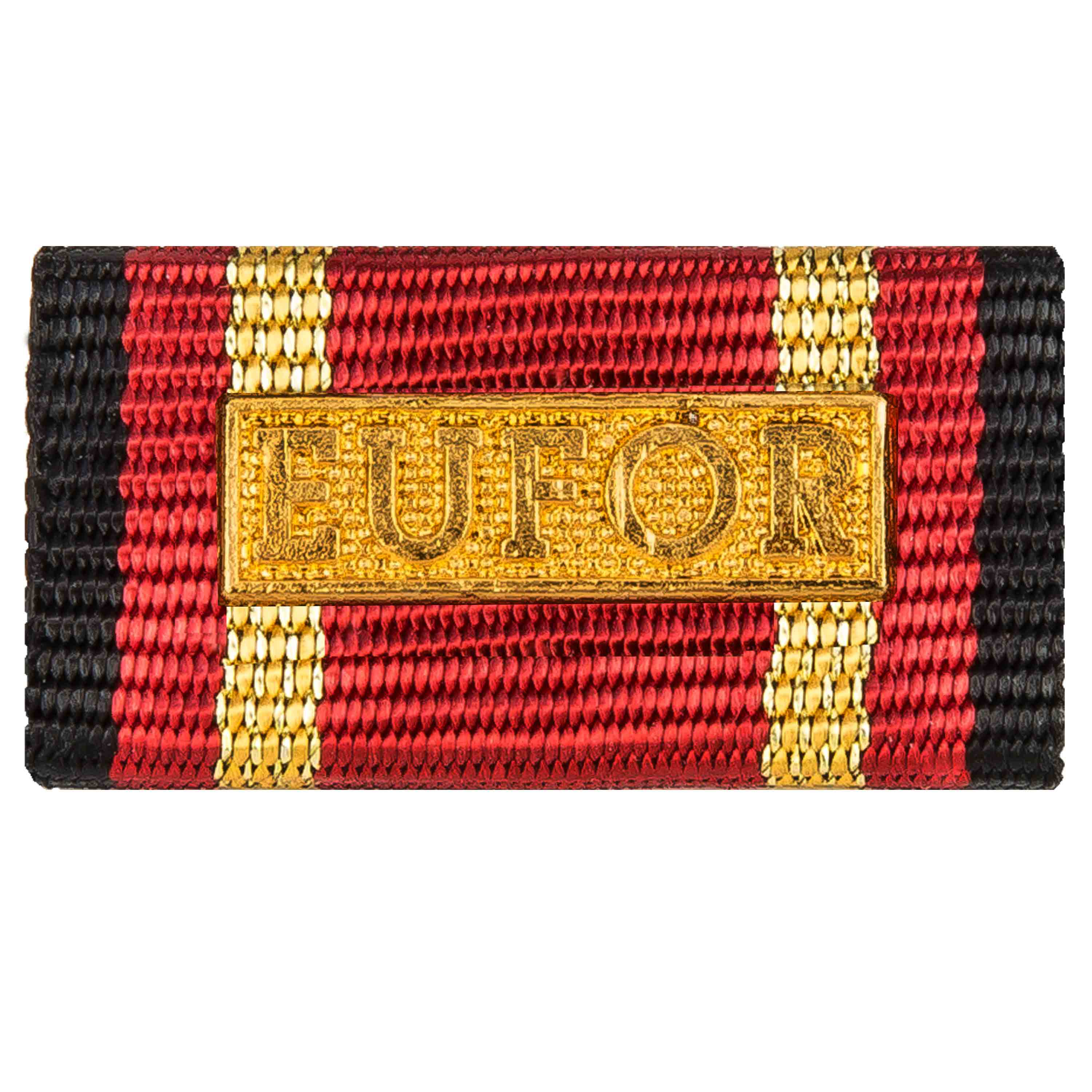 Service Ribbon Deployment Operation EUFOR gold