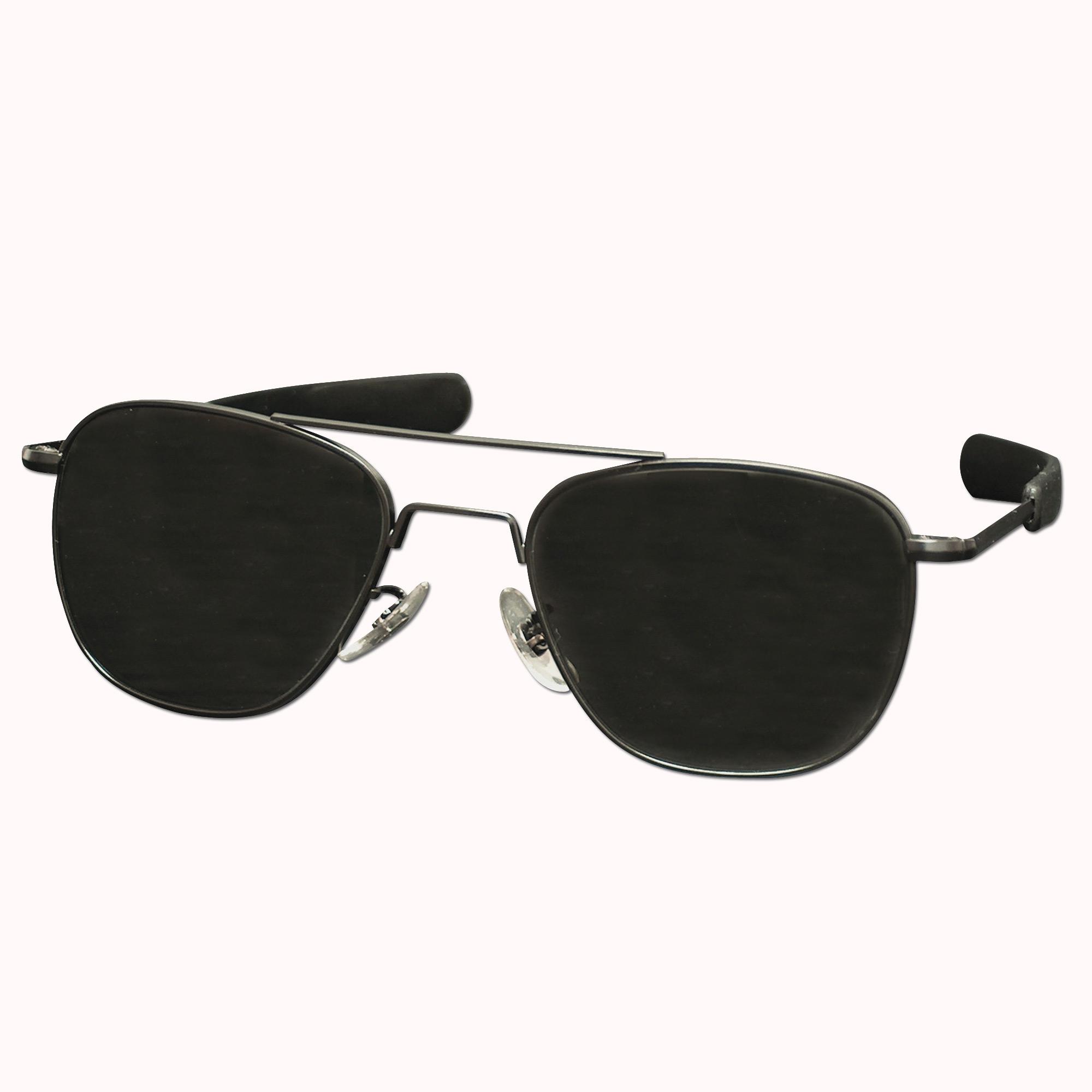 Aviator Sunglasses, black 57 mm