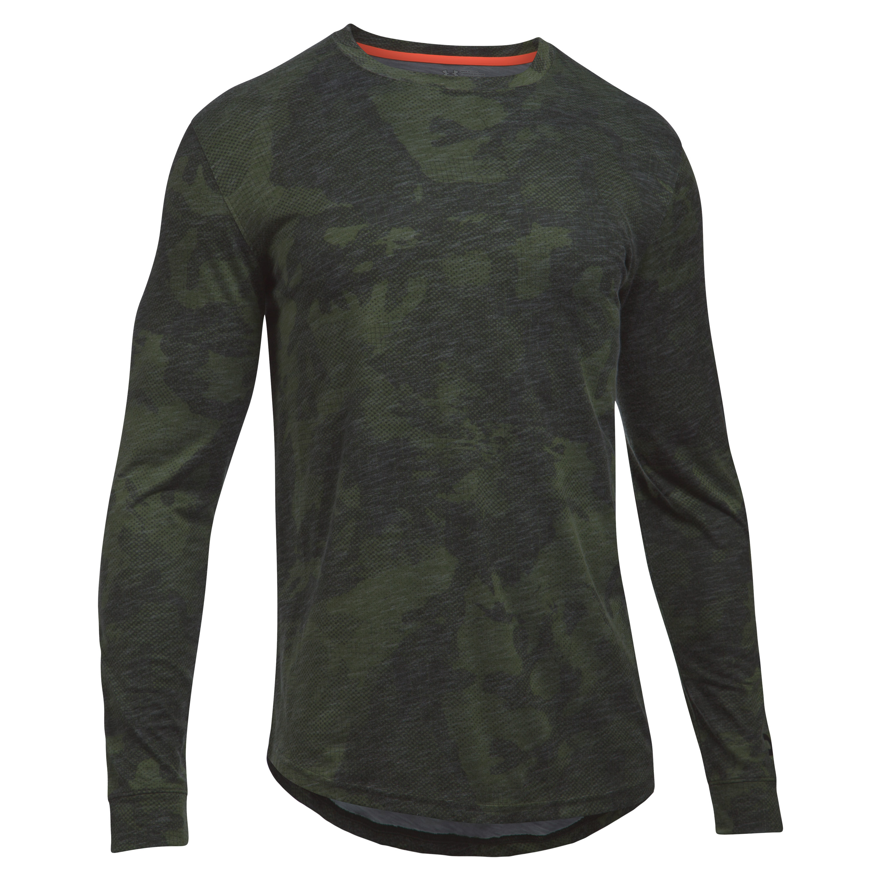 Under Armour Long Arm Graphic Tee green