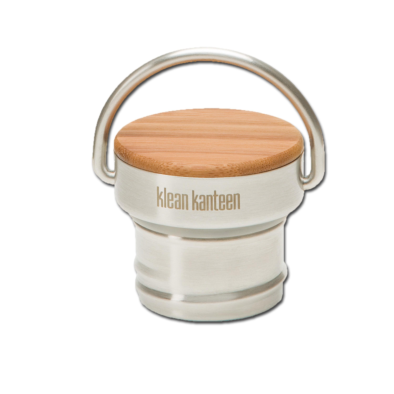 Bottle Closure Klean Kanteen Stainless Unibody Bamboo Cap